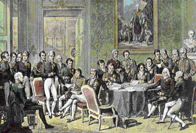 Венский конгресс. Жан-Батист Изабе, 1814.