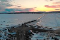 В ЯНАО перекрыли ледовую переправу Салехард – Лабытнанги