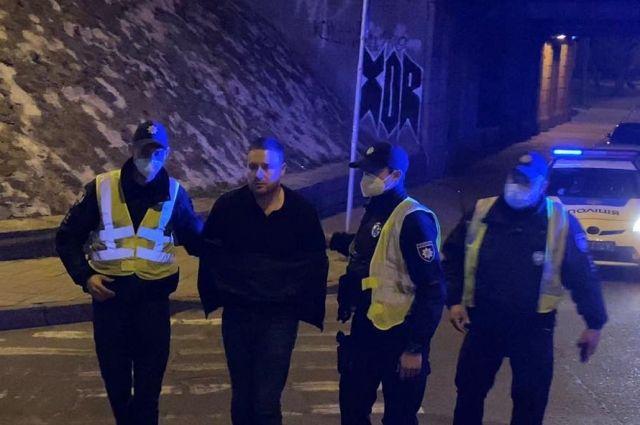 Избил полицейского: в столице задержали заместителя председателя КГГА