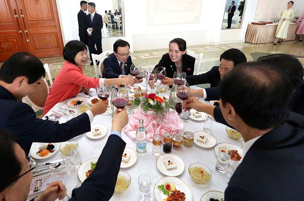 Межкорейский саммит в Пхеньяне.