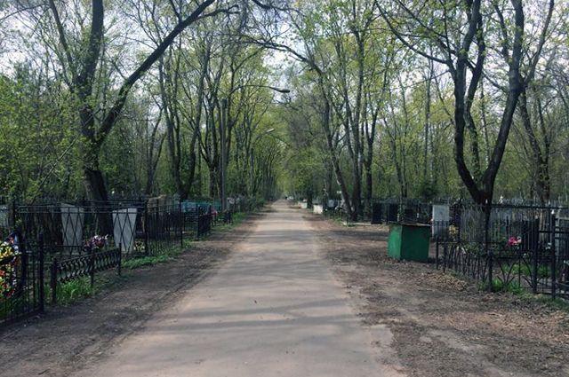 Коминтерновское кладбище Воронежа.