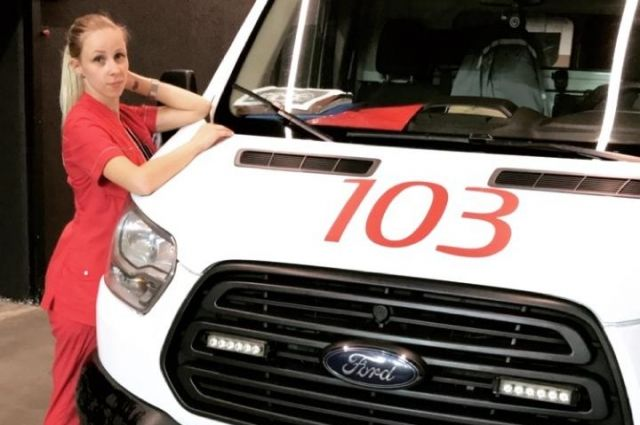 Ксения семь лет работает в скорой помощи.