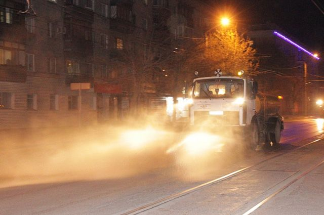 Дороги Барнаула будут обрабатывать в ночь