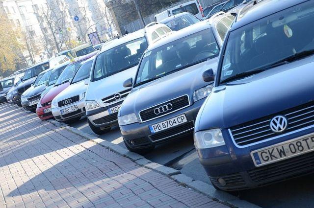 В Украине предлагают снизить стоимость «растаможки» авто с еврономерами