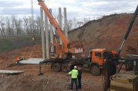 В Оренбурге строительство нового моста на ул. Терешковой идет по графику.