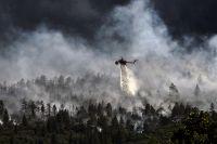 В Красноярском крае введен режим чрезвычайной ситуации в лесах.