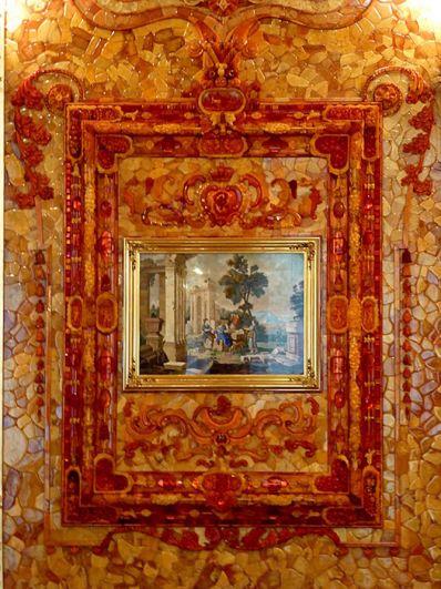 Официально поиски Янтарной комнаты СССР прекратил в 1979 году. На фото: воссозданная Янтарная комната.