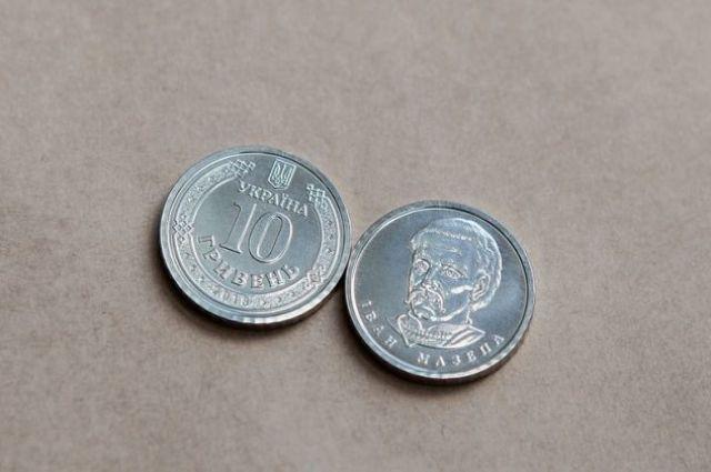 В Украине вводят монету номиналом 10 гривен