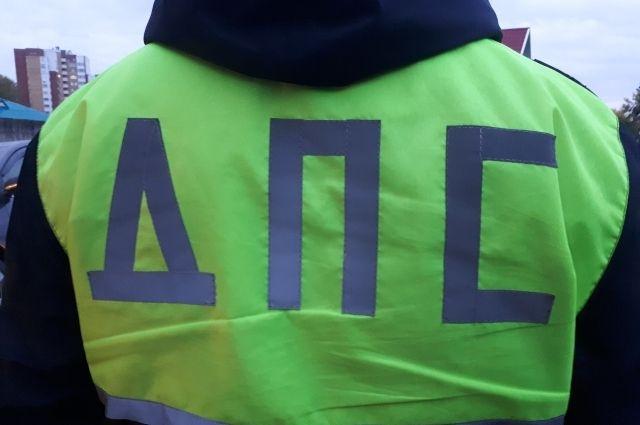 В центре Тюмени велосипедист попал под колеса иномарки