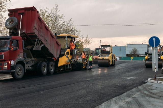 Глава Тюмени Руслан Кухарук проверил, как в городе ремонтируют дороги