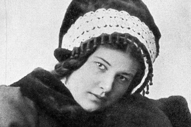 Лариса Рейснер.