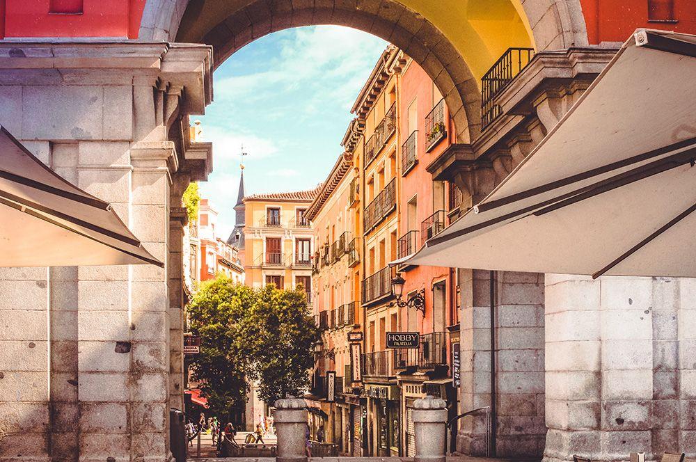Мадрид, Испания. Эксперты отмечают множество зеленых насаждений в центре и удобство города для пешеходов.
