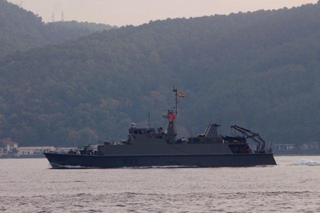 В Одесской области судно выбросило на берег