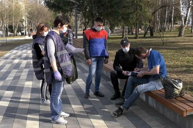 В Кемерове за нарушение режима самоизоляции полицейские составили 116 протоколов и направили их на рассмотрение в суды.