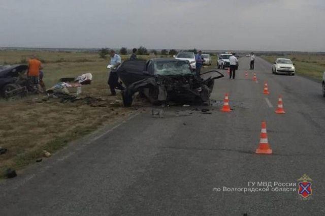 Смертельная авария произошла в 2019 году под Волгоградом.