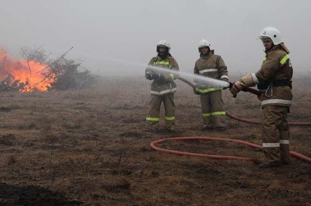 ГСЧС продолжает бороться с огнем в Житомирской области и зоне ЧАЭС