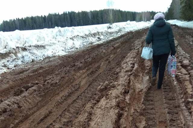 Обнаружены нарушения содержания улично-дорожной сети в деревне Малая Черемшанка Колыванского района.
