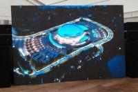 Губернатор Новосибирской области Андрей Травников проверил ход строительства многофункциональной ледовой арены в Новосибирске.