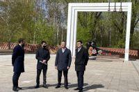 В Тюменской области проверили состояние памятников ВОВ