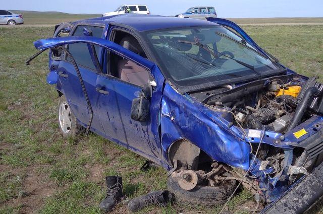 В Оренбургской области произошло смертельное ДТП на автодороге Оренбург - Орск.