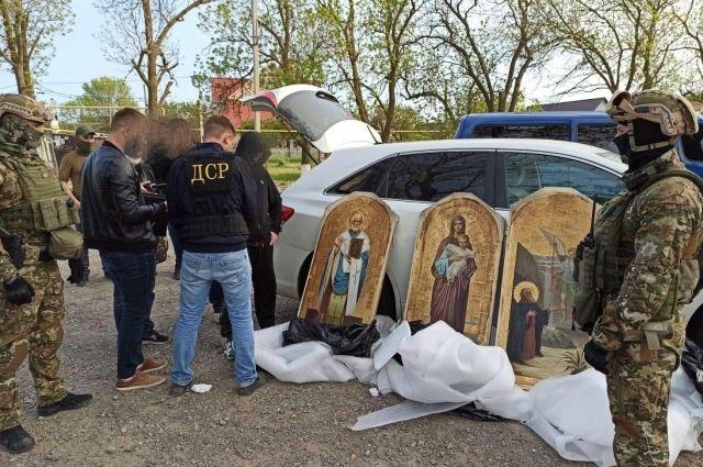 В Украине обезвредили банду похитителей икон