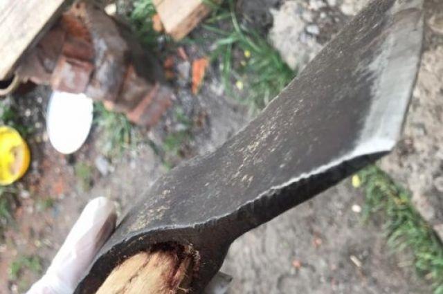 В Харьковской области мужчина из-за обиды зарубил топором двоих человек