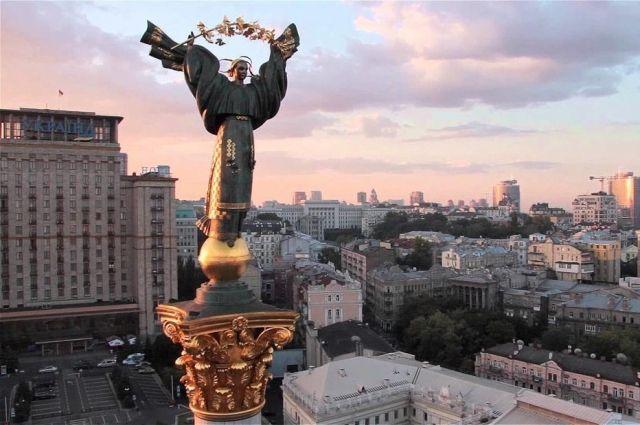 В Киеве дезинфекцию городских объектов проводят с помощью беспилотников