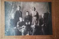 Наталья Меньшикова, сыновья Анатолий, Евгений, Владимир, дочь Ольга, сын Николай, муж Матвей