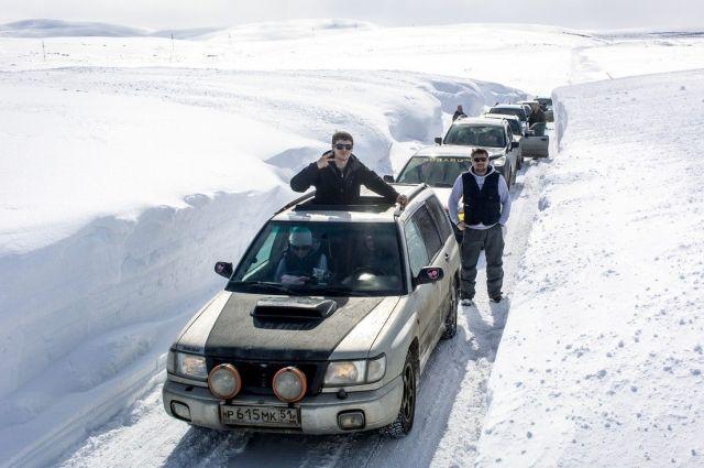 Дорога на Териберку открыта, но проехать по ней бывает крайне проблематично!