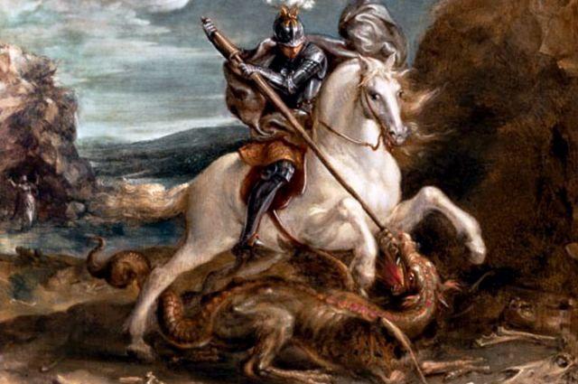 Аахен Ханс. «Георгий побеждает змия».
