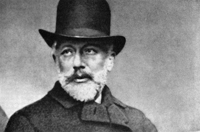 Петр Ильич Чайковский в Женеве. 1889 г.