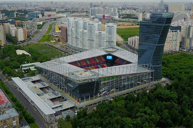 «ВЭБ Арена» — стадион футбольного клуба ЦСКА.