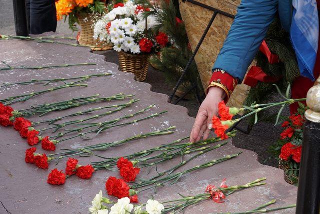В Усть-Большерецке память о героях хранят очень бережно.