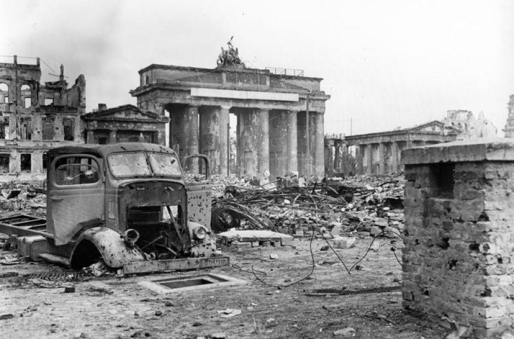 На улицах Берлина.