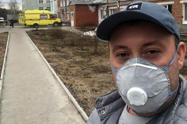 Пермяк и его друзья из фейсбука с апреля кормят врачей и медсестёр Перми, сражающихся  с ковидом.