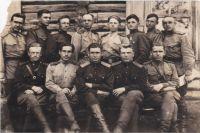 Политотдел 17-й снайперской школы. Калачинск. 1943 год.