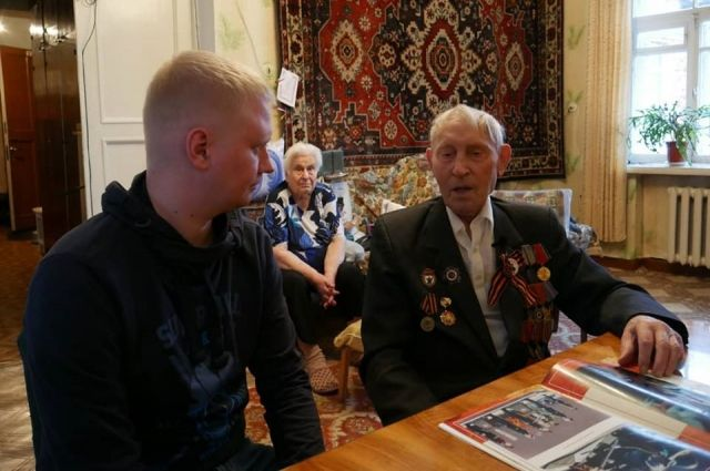 Василий Фёдорович Гусев рассказал Антону Савчуку о том, что было пережито в годы войны