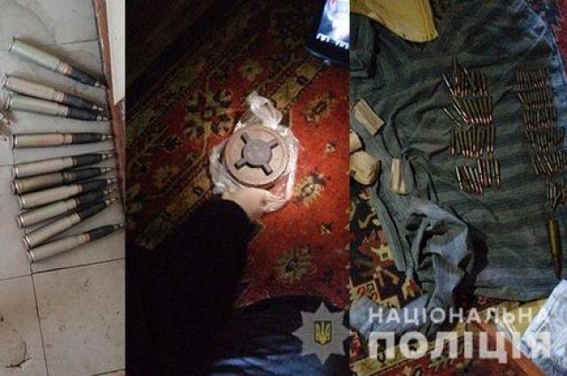 В Днепропетровской области пресекли сбыт оружия из района проведения ООС