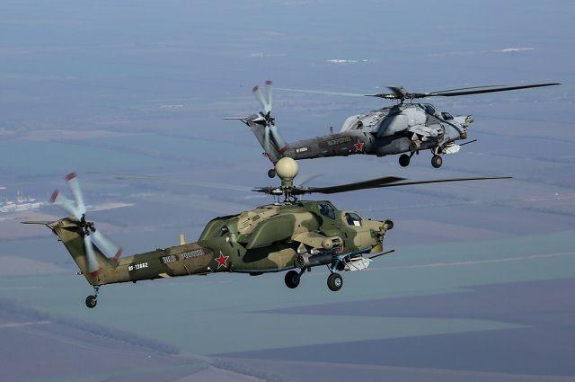 В авиапараде будут участвовать и вертолёты