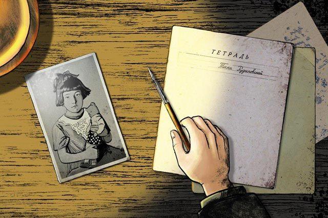 Детская книга войны. Дневник Тани Рудыковской 1942 г.