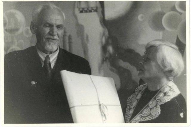 В июле 1944 года Георгий Величко был назначен на должность директора Ханты-Мансийского педагогического училища