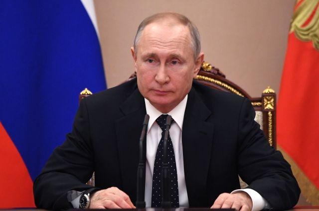 Путин поздравил народы Украины и Грузии с Днем Победы