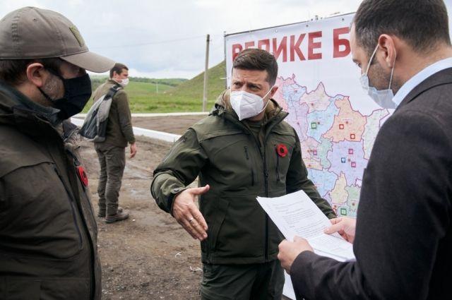 Зеленский: дорога Северодонецк − Станица Луганская одна из приоритетных