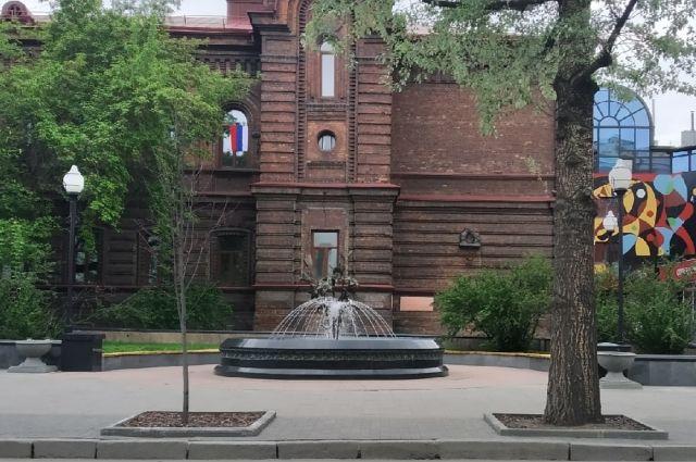 Всего в городе работают 30 фонтанов.