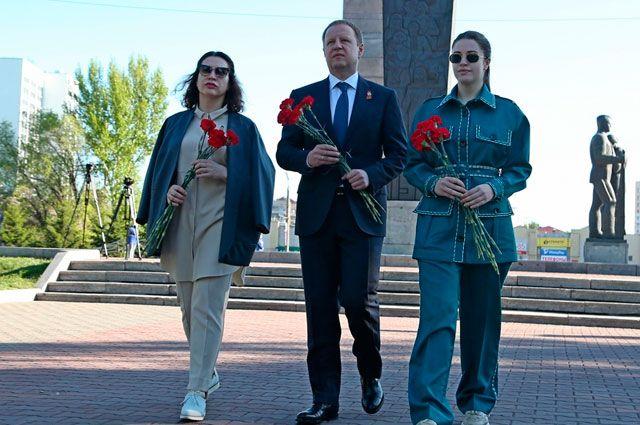 Виктор Томенко и его семья.