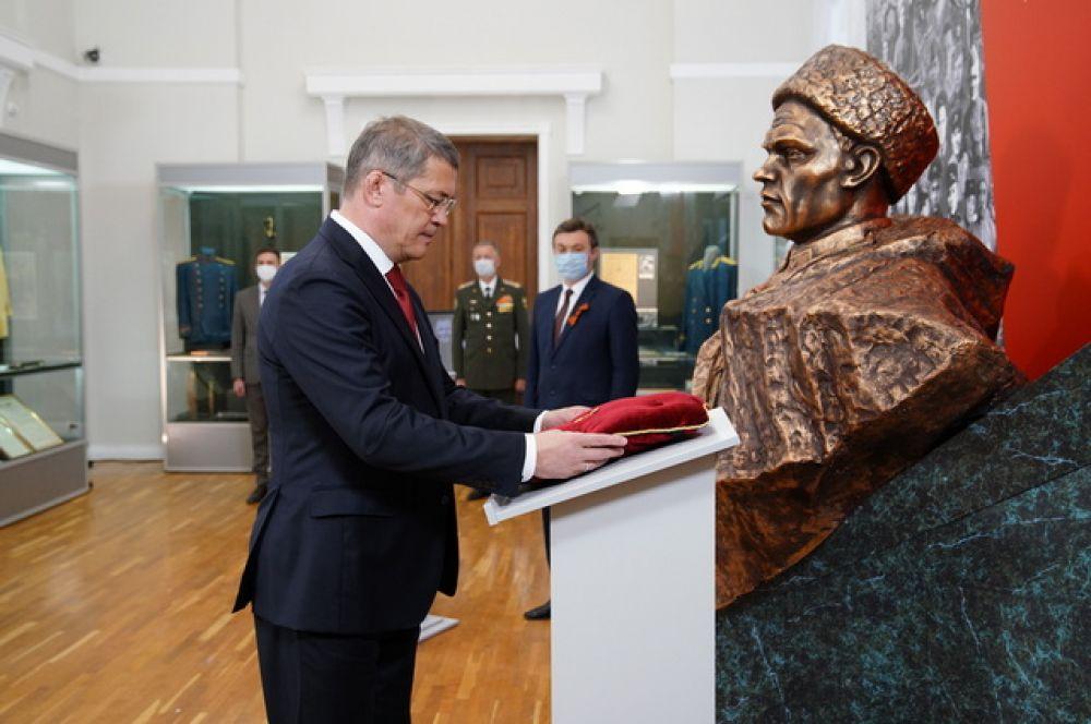 «Золотая звезда» передана в Национальный музей Башкирии.