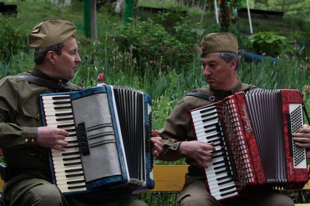 Праздничный концерт в Железноводске.
