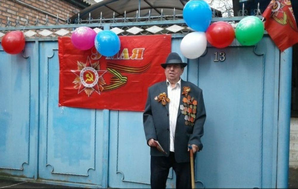 Ветеран Иван Ярёменко из Туркменского района.