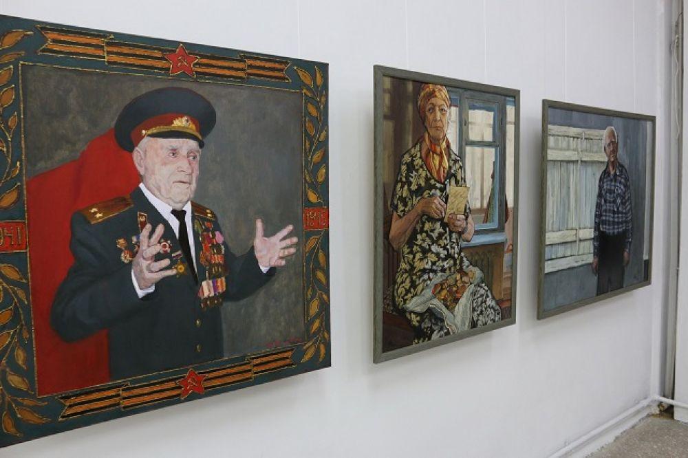 """Спецпроект """"Портрет ветерана""""."""