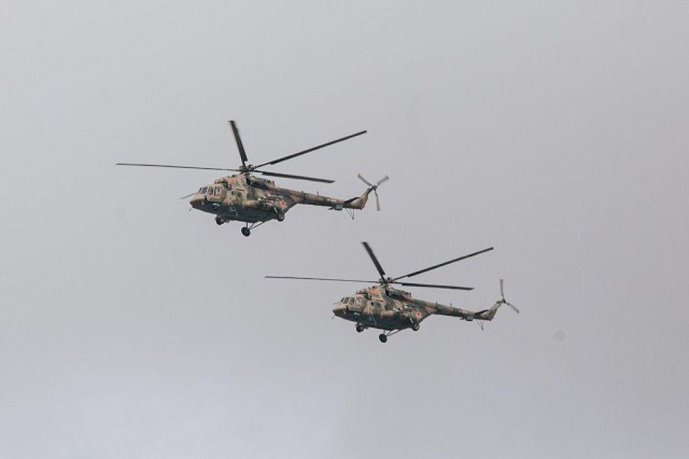 Авиапарад в Ставрополе.